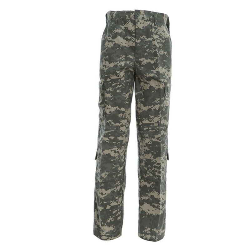 Tactical Army Camouflage Suit Mens Multi-tasche Militare Camo Pantaloni Gioco Di Guerra Di Combattimento Pantaloni Impermeabili Pantaloni Cargo Pantaloni