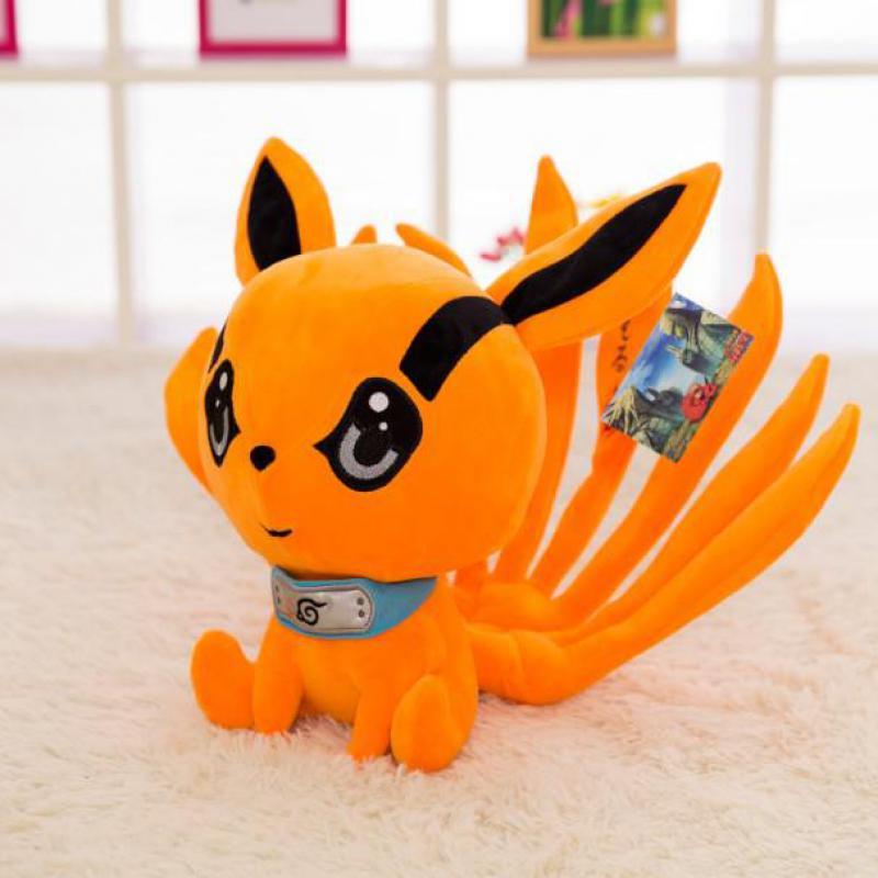 30 cm anime NARUTO uzumaki kyuubi Kurama nueve cuentos zorro demonio peluche suave animal de juguete relleno muñeca para Niñas niños amante mejor regalos