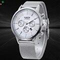Original NORTH Men Watch Top Brand Luxury Tag Watch Men's Clock Waterproof Stainless Steel Watch Men Quartz-Watch
