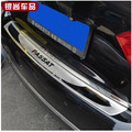 2011-2013 Passat B7 High quality stainless steel Rear bumper Protector Sill