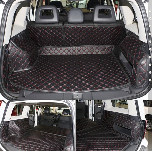 Bonne qualité! Spécial tapis voiture du tronc pour Jeep Compass 2015-2007 durable démarrage tapis cargo liner pour Boussole 2013, livraison gratuite