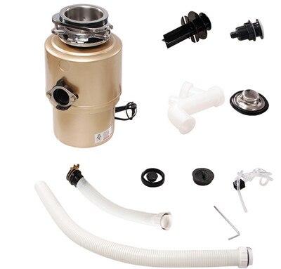 Двигатель переменного тока 450 Вт кухонный мусор для мусора дробилка для пищевых отходов сплав шлифовальный материал кухонная техника