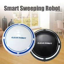 Automatic USB Rechargeable Smart Robot Vacuum Floor Cleaner Sweeping Suction Household Low Noise Dust Collector(China)