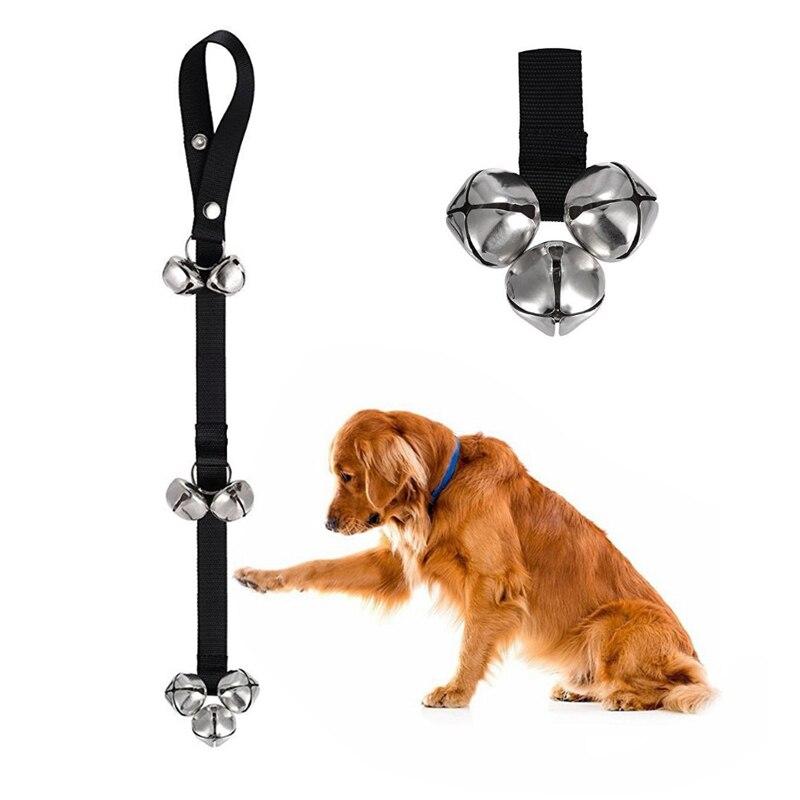 Dog Doorbells for Dog Training And Housebreaking Clicker Door Bell 7 Count Z07 Drop Shipping