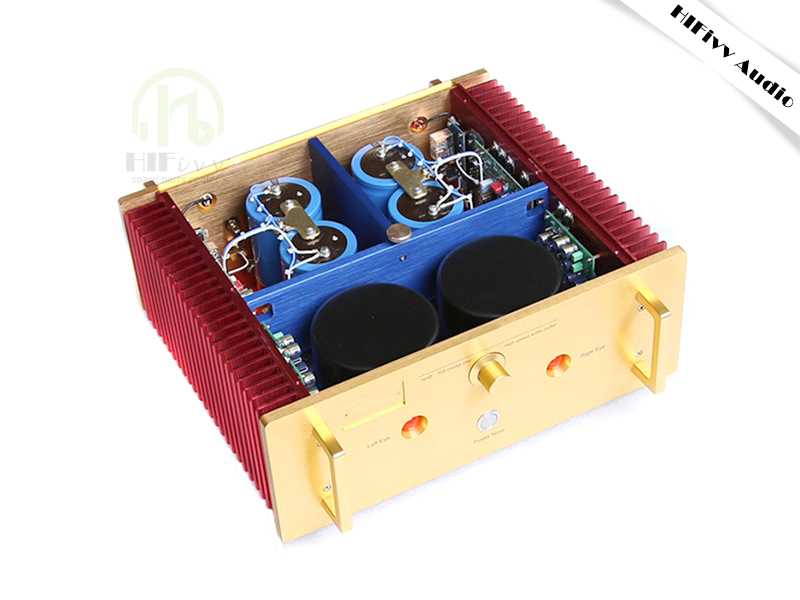 HIFivv audio amplifier no negative feedback circuit hifi audio power amplifier Double parallel MJL4281 MJL4302 200W*2 negative feedback amplifier circuit kit practice kit two stage amplifier teaching experiment kit