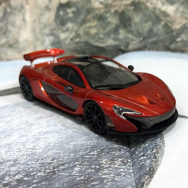 LEO 1/43 Scale Car Toys 2014 Mclaren P1 Diecast Metal Car Model Toy ...