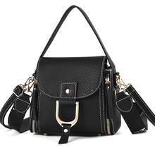 Women Handbag Leather Women Messenger Bag Women Bags Shoulder Crossbody Handbags Zipper Lock Luxury Designer Small Flap Fashion
