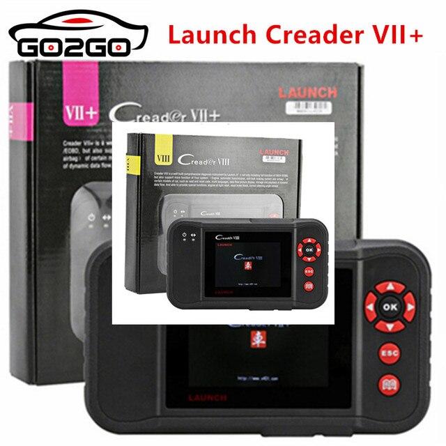 New Price Original Launch Creader VII+ Update Online Code Scanner Creader VII+ Same As CRP123 DHL Fast Delivered