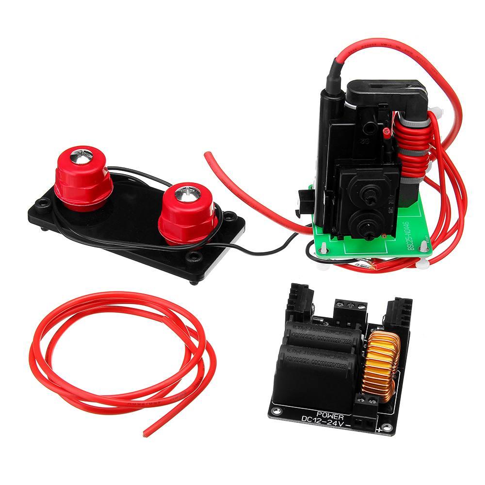 Jacob Ladder + ZVS High Voltage Arc Power Supply Module DIY Student Experiment Kit