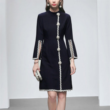 Embroidery Pearls Beading  Dress