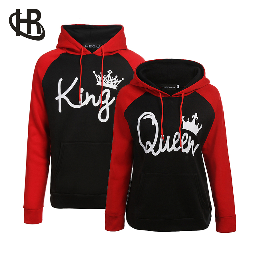 King /& Queen His and Hers NEW Design Matching Sweatshirt Couple Crewneck
