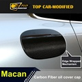 Free Shipping Modified Carbon Fiber Car Oil Fuel Tank Cover Cap for porsche macan