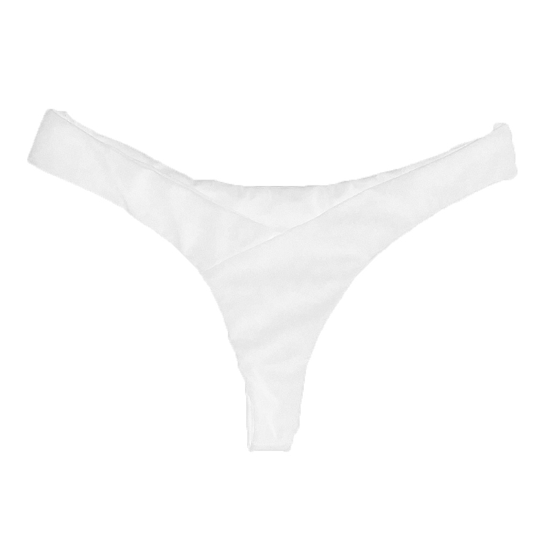 Women Underwear Hot Summer Beachwear Bikini Bottom Thong Swimwear Solid Color Low Rise Panties