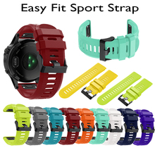 Colourful Silicagel Quick Release Band Strap For Garmin Fenix 3 HR/3 GPS Watch 22mm Watchband 5X/5x Plus