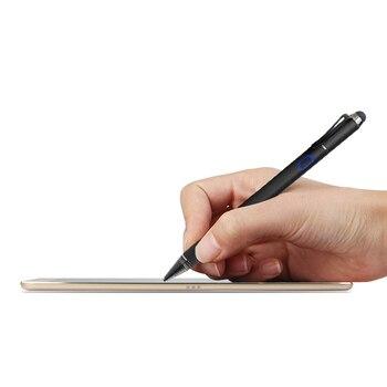 Samsung Note 2 экрана | Активный Стилус емкостный Сенсорный экран для Samsung Galaxy Tab 2 3 4 S Pro 7,0 8,0 8,4 10,5 Примечание 10,1 Inch планшет металлическая ручка