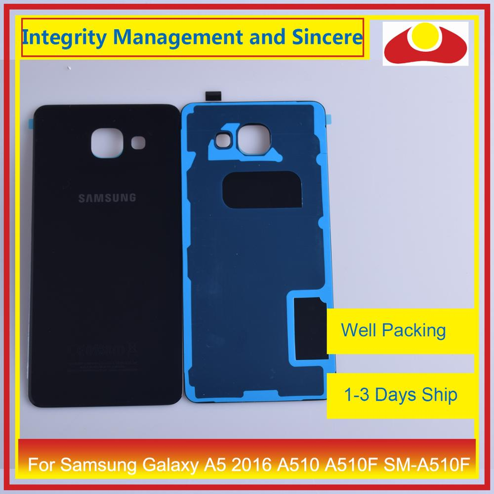 Image 4 - Original For Samsung Galaxy A5 2016 A510 A510F SM A510F Housing Battery Door Rear Back Cover Case Chassis Shell-in Mobile Phone Housings & Frames from Cellphones & Telecommunications