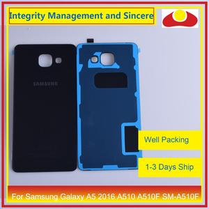 Image 4 - Original For Samsung Galaxy A5 2016 A510 A510F SM A510F Housing Battery Door Rear Back Cover Case Chassis Shell