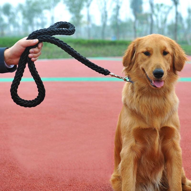 Newly Nylon Braided Pet Dog Leash for Medium & Large Dogs Heavy and Duty Pet Training Leash Perfect for Labrador Husky Bulldog