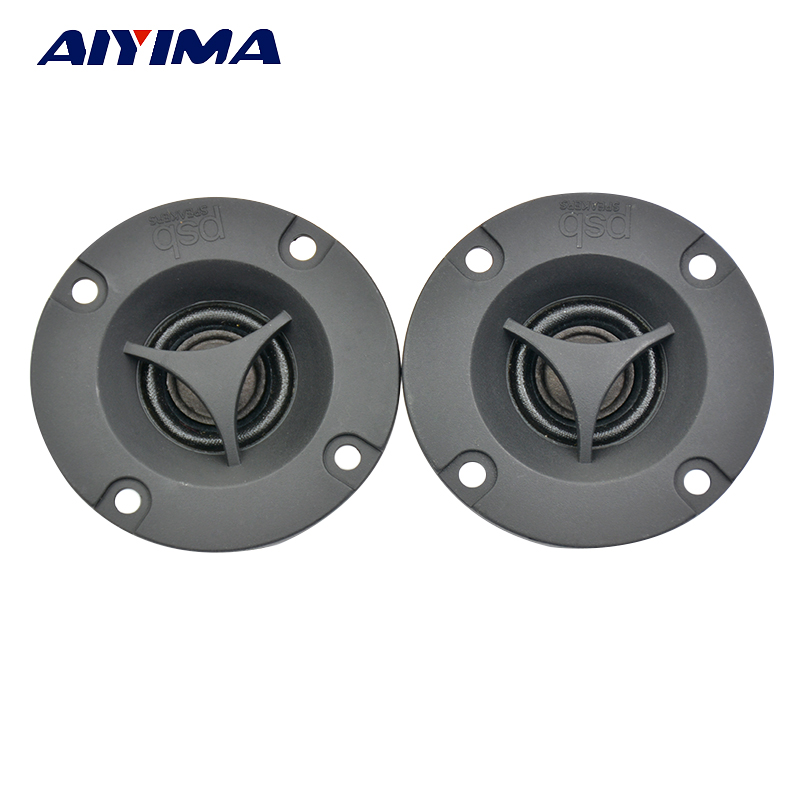 AIYIMA 2Pcs 2inch <font><b>8Ohm</b></font> <font><b>15W</b></font> Car Tweeters Introduction <font><b>Speakers</b></font> Loudspeaker Car Tweeter Treble Plastic <font><b>Speaker</b></font> Loudspeaker image