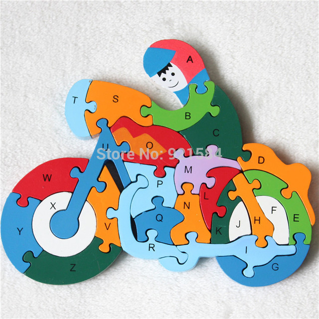 Wooden Toys Jigsaw Puzzle Board Kids Gift For Childrendevelop Brain IQ