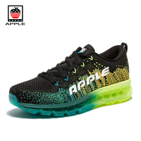 Hot Sale Men S Air 2014 Mesh Full Air Sole Running Shoes Brand New Fly Weaving