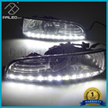 For Skoda Superb 2008 2009 2010 2011 2012 2013 New LED DRL Daytime Running Light Fog Light With Wire Of Harness And Gift