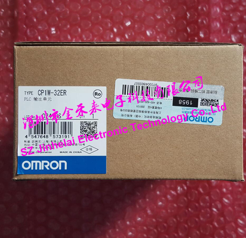 CP1W-32ER Authentic original OMRON PLC CONTROLLER OUTPUT UNIT стоимость