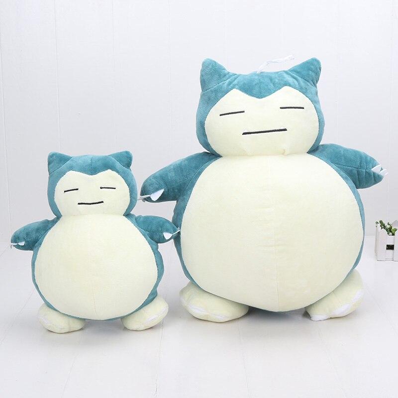 30cm 50cm Snorlax Plush Toys Solgaleo Alola Mimikyu Clefairy Jigglypuff Lucario Charizard Plush Soft Stuffed Dolls For Children(China)