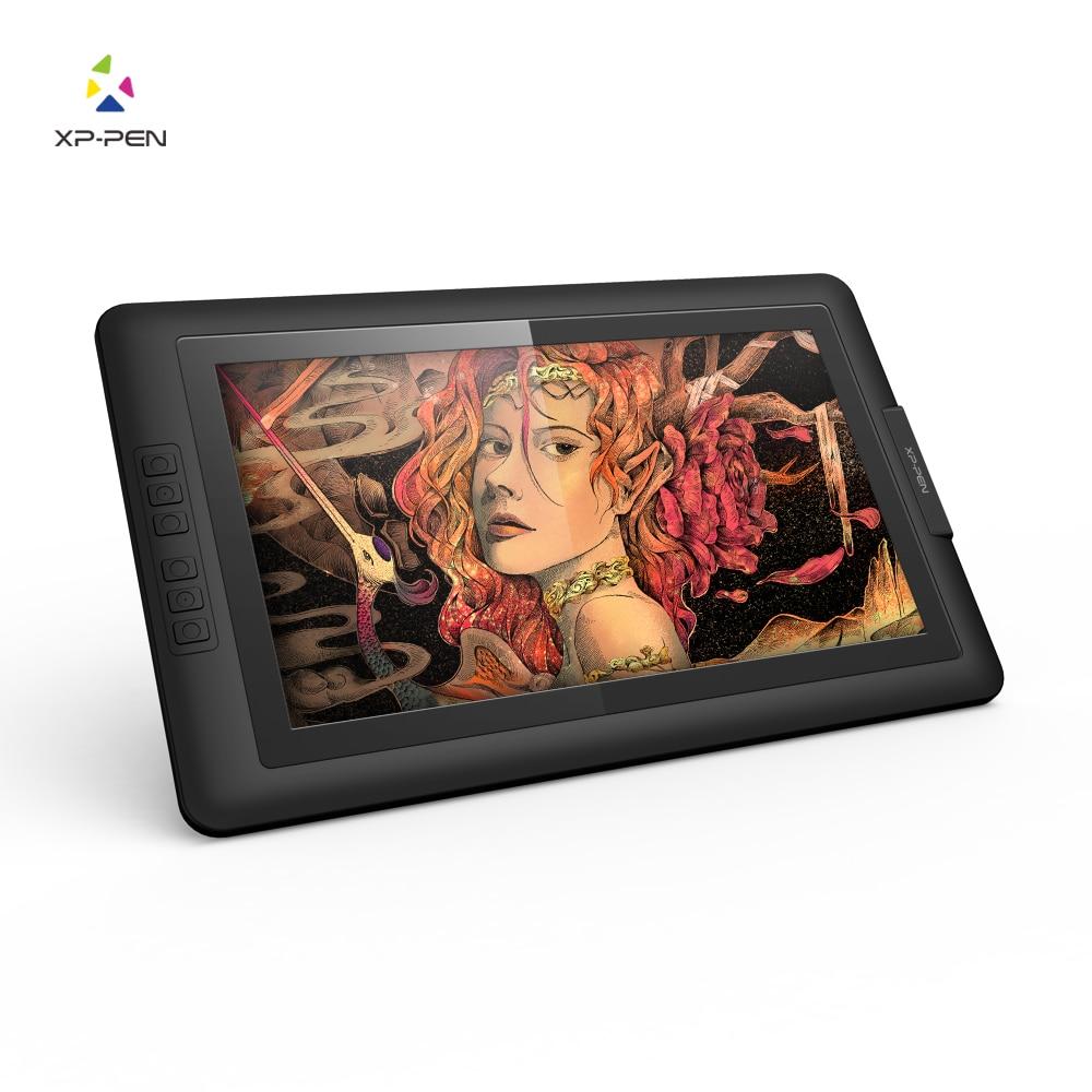 XP-Stift Artist15.6 IPS Zeichnung Stift Display Graphics Zeichnung Monitor mit Batterie-freies Passive Stylus (8192 ebenen druck)