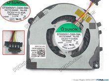 For SUNON EF50050V1-C000-S9A 008X6N DC 12V 0.40A 4 wire 4-pin connector Server Laptop Fan