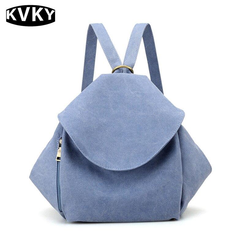 Anti Theft High Quality canvas Backpacks For Women Luxury Designer Fashion Girls Backpacks School Bags Female