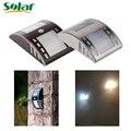 Newest Solar Light Stainless Steel Motion Sensor Lights LED PIR Street Wall Garden Outdoor Solar Lamp Powered Lamps