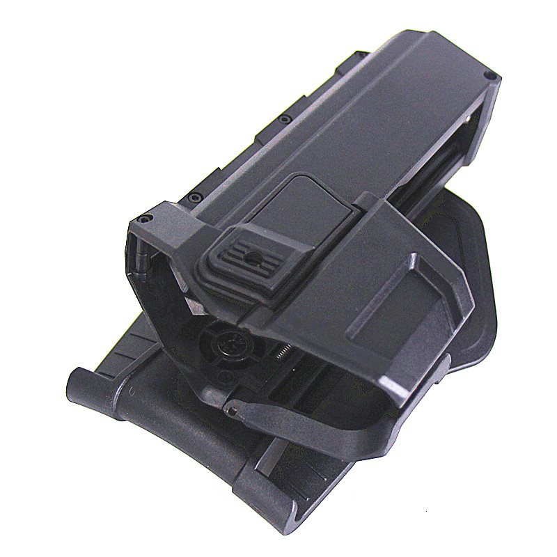 GLock Gun Holster Tactical Hunting Accessories GLock 17 18 19 23 32 Combat Waist Belt Gun Holsters Outdoor Military Gun Case in Holsters from Sports Entertainment