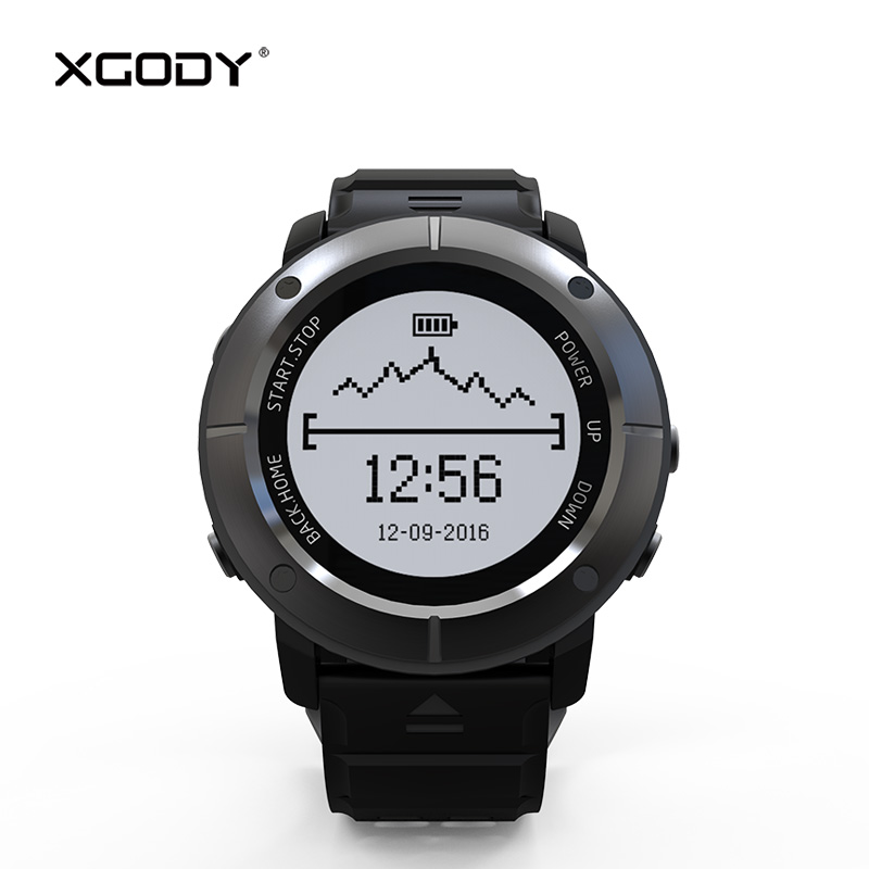 XGODY UW80 GPS Tracker Outdoor Sports Smart Watch for iOS Android Pedometer Heart Rate Monitor Compass Thermometer Waterproof BT стоимость