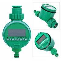 6Pcs Set Practical Garden Irrigation Automatic Micro Drip Irrigation System Water Timer Solenoid Valve Irrigation Nozzle