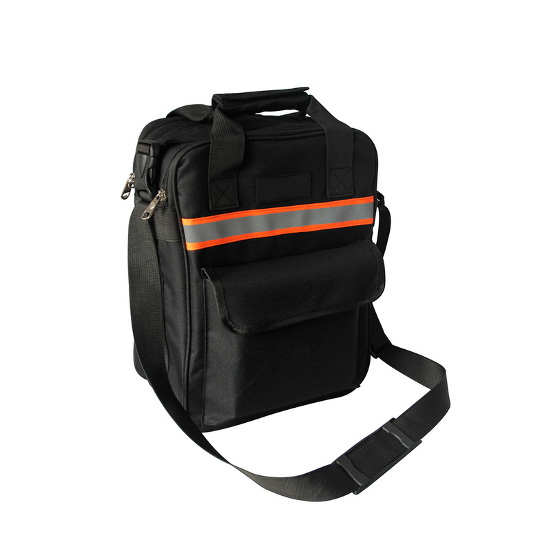 Hoomall Multi-function Tool Bag Balck Electrician Maintenance Bags For Tool 600D Oxford Cloth Wear-resistant Portable Toolkit hoomall tool kit multi functional maintenance electrical shoulder bag large thick canvas oxford cloth tool bag
