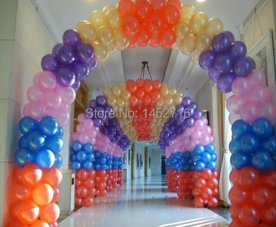 12 blue green orange pink pure balloon diy colorful balloon latex decoration balloon for - Orange Hotel Decoration