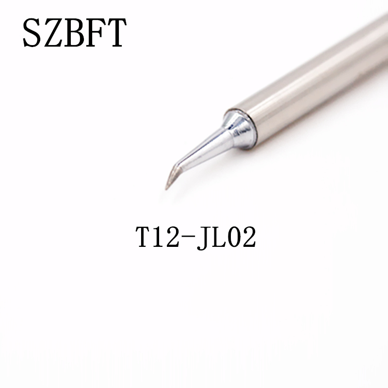 SZBFT  T12-JL02 D08 D12 D16 D24 D32 D52 DL32 Welding Tips Soldering Stings  For  FX-951 FX-952