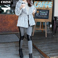 2015 Korean Autumn And Winter Joining Together Show Legs Warm Women Leggings Women Free Shipping H8875