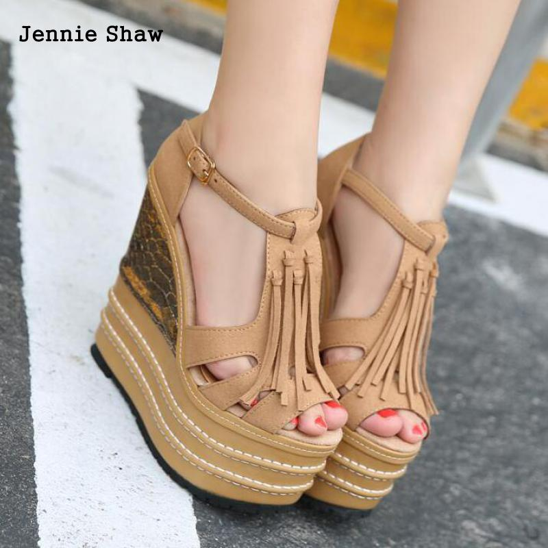 16cm High Heels Sandals Women shoes Candy Color Shoes For Women Gladiator Sandals Women sys 1115