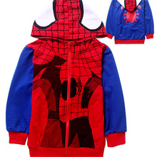 Scorching!!!!!The Autumn Of 2015 The New Youngsters's Cartoon Hooded Fleece Youngsters's Coat Free Delivery