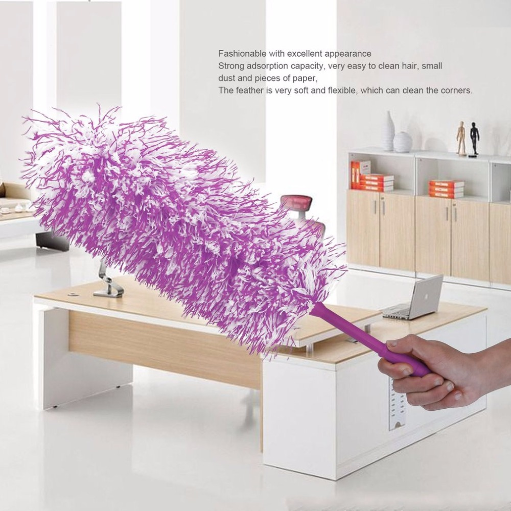 dusting furniture. microfiber flexible dust feather duster household dusting brush room furniture cleaner handle with hanging buckles-in dusters from home \u0026 garden on m