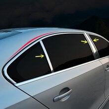 8 шт. окна средний столб защитный Молдинги для Volkswagen Jetta 2012 13 14 15 16 17 CA107
