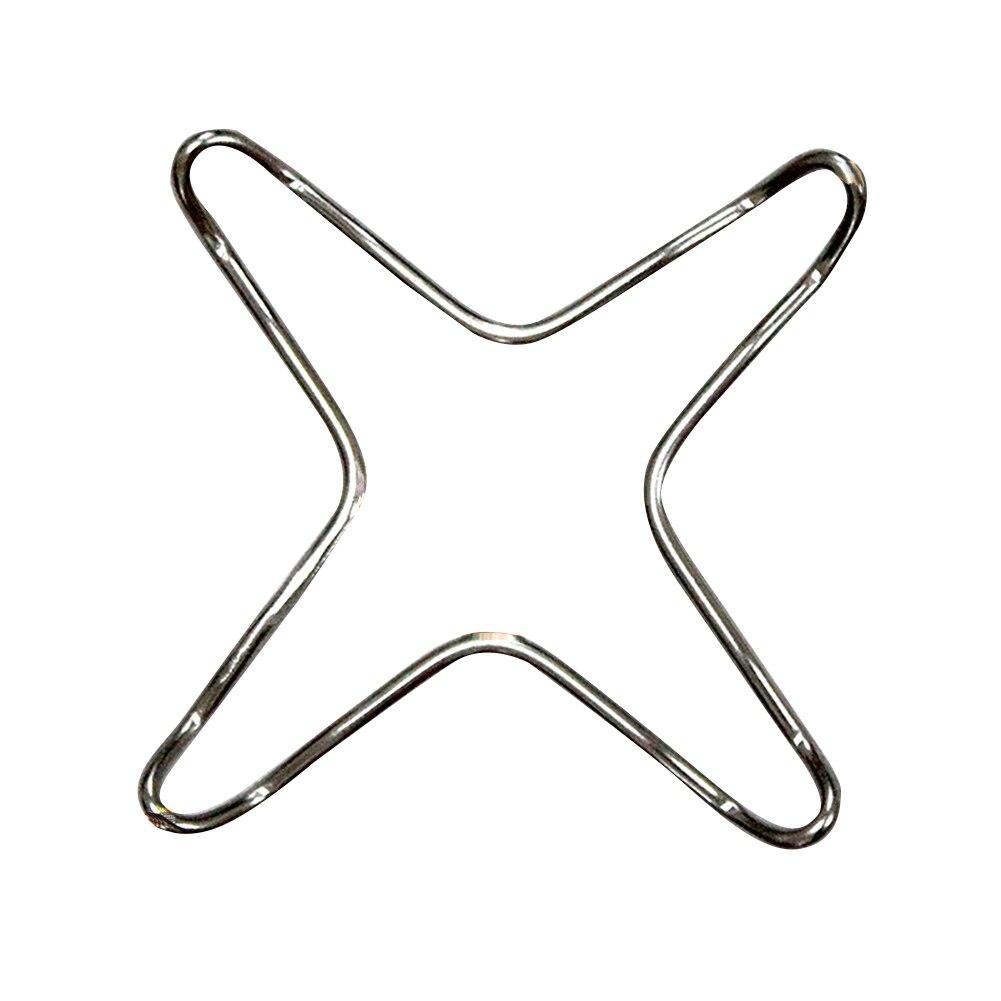 2 x plaque de cuisson Cuisinière Universel top café moka dessous de plat Pot Pan stand cuisinière à gaz support