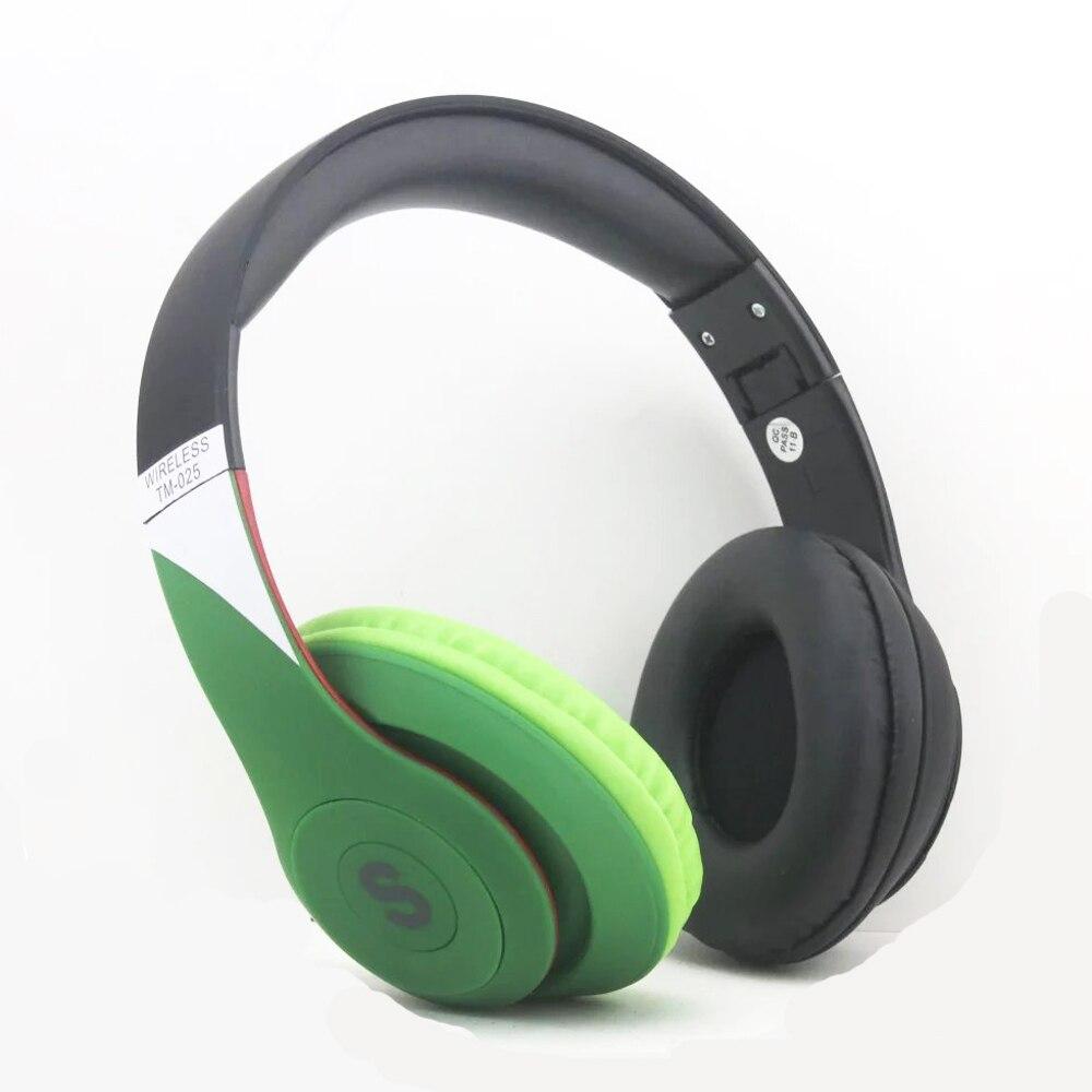 2017 Hot Sale S450 Tm 025 Portabe Wireless Bluetooth Headset Tf Card Musik Stereo Beats Fm Radio Headphones Foldable Bass Sport Earphone In Earphones From