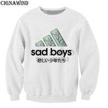 Nuevos muchachos tristes té verde favorito loco impreso 3d hoodies mujeres  hombres sudaderas moda harajuku estilo streetwear top. 1e4be9eb881