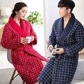 Três Camada Espessamento Homem E Mulher Roupões de Banho Apenas Para inverno Plus Size Xxxl Avisar Algodão Flanela Camisola Desgaste Casa Sleepwear
