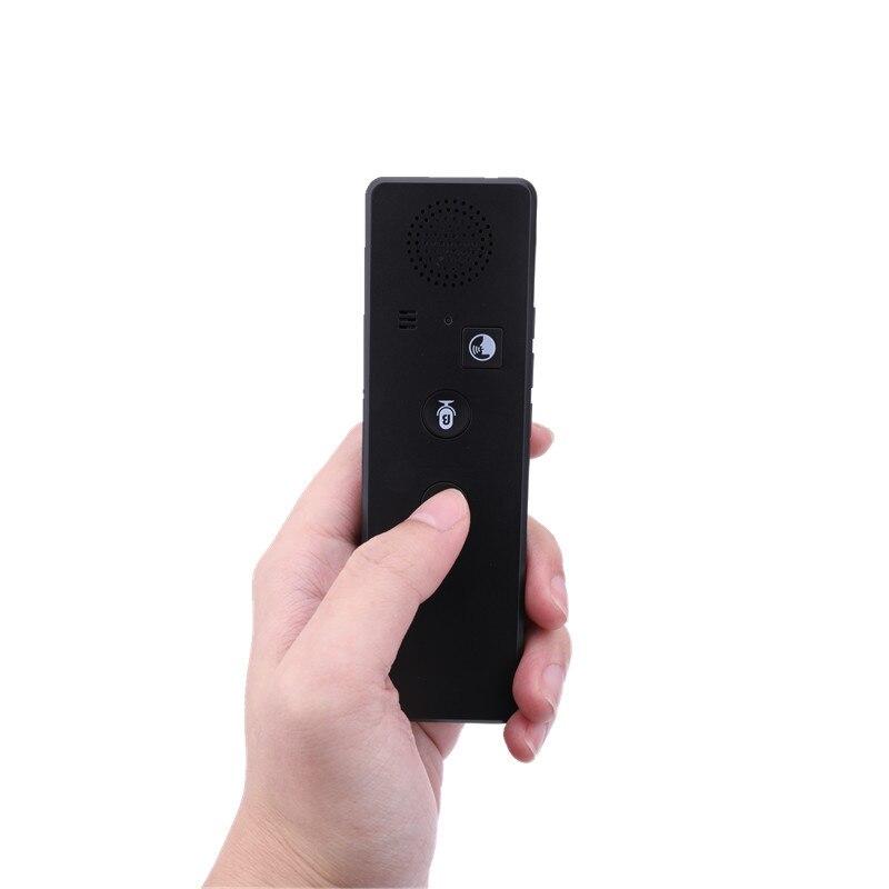 Traduction simultanée multilingue de traducteur Intelligent, synchronisation vocale, stylo de machine de traduction de Bluetooth