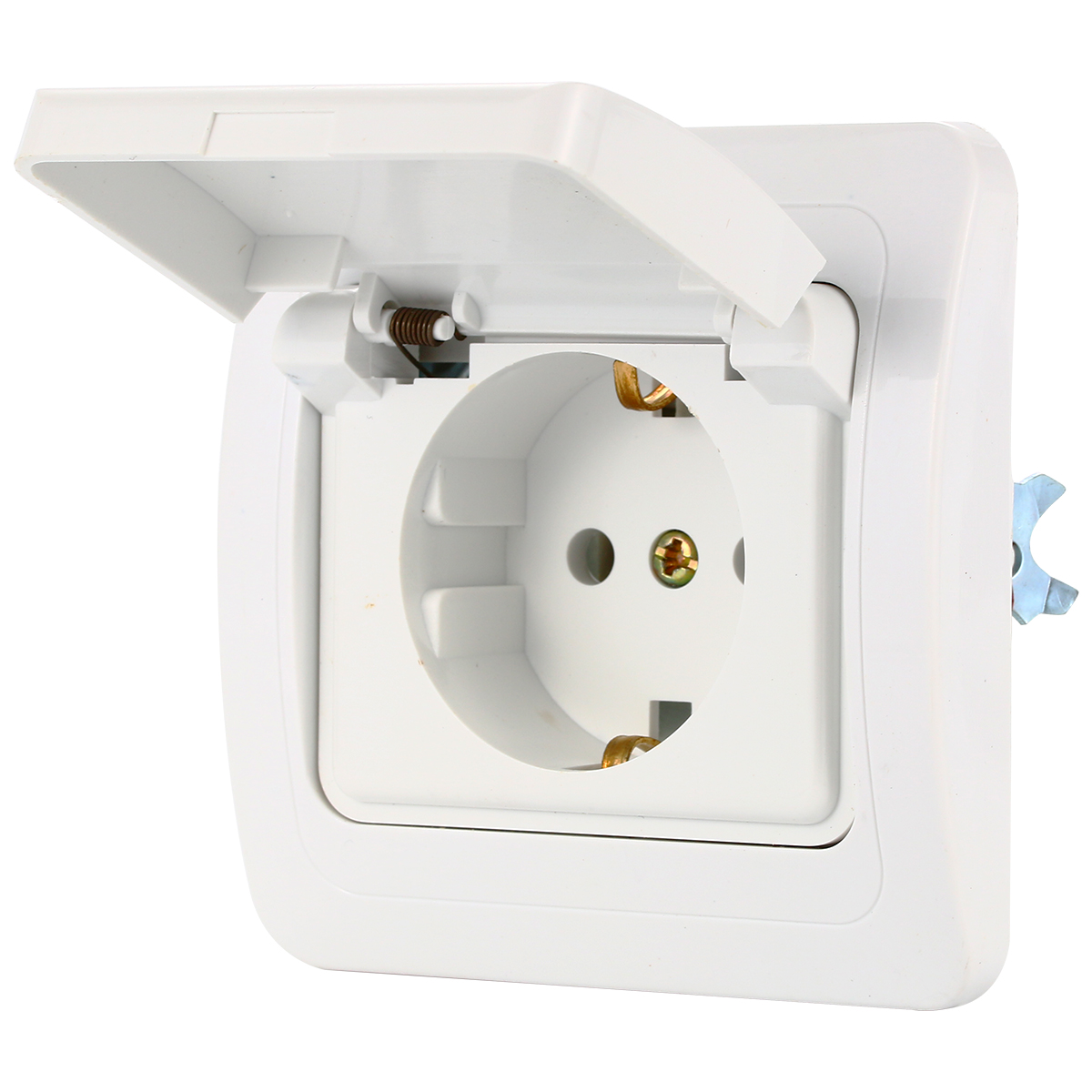 small resolution of germany european ac power socket 16a 250v korea wiring receptacle power outlet schuko bi132 on aliexpress com alibaba group