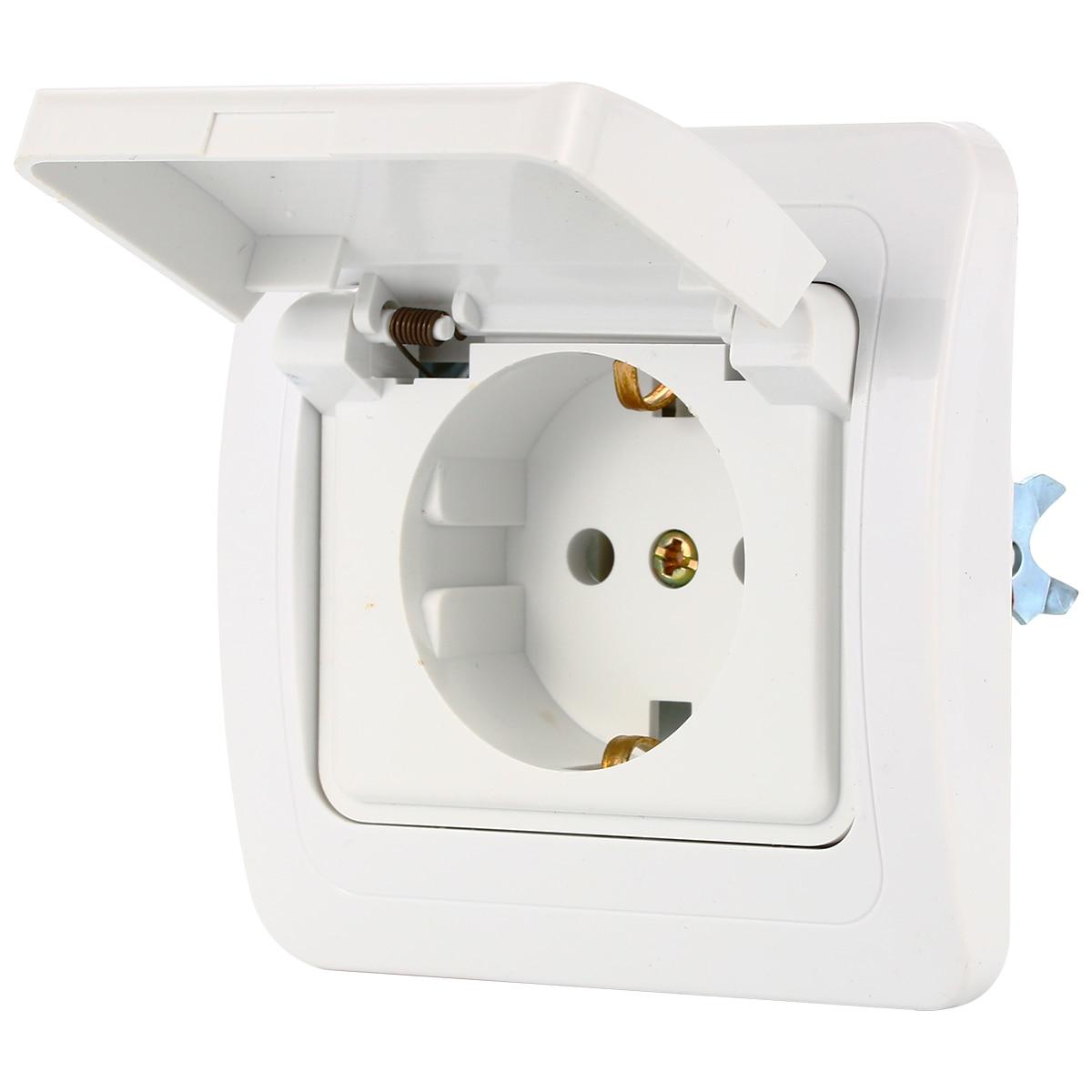 medium resolution of germany european ac power socket 16a 250v korea wiring receptacle power outlet schuko bi132 on aliexpress com alibaba group
